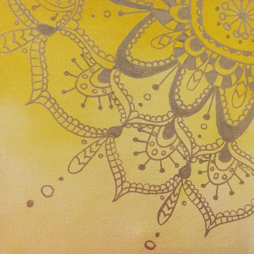 Spring Paint & Meditate