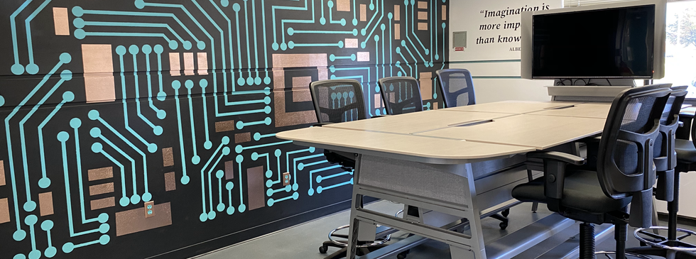 Wall Art and Team Table