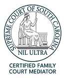 Image of seal of Supreme Court of South Carolina, Family Court Mediator South Carolina, Charleston mediator, Summerville mediator, mediation, mediated divorce, custody mediator, divorce mediation