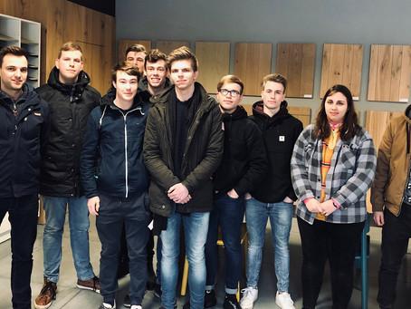 Githo Nijlen komt met leerlingen uit het 7de jaar Industriële Houttechnieken