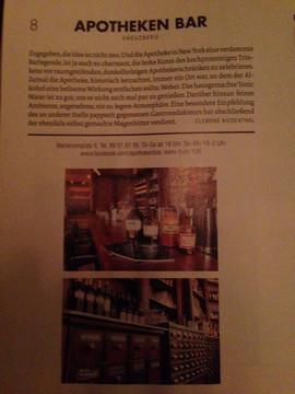Article in Zitty Berlin