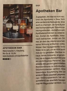 Article in Tip Berlin