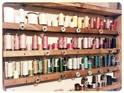 Sewing thread Storage