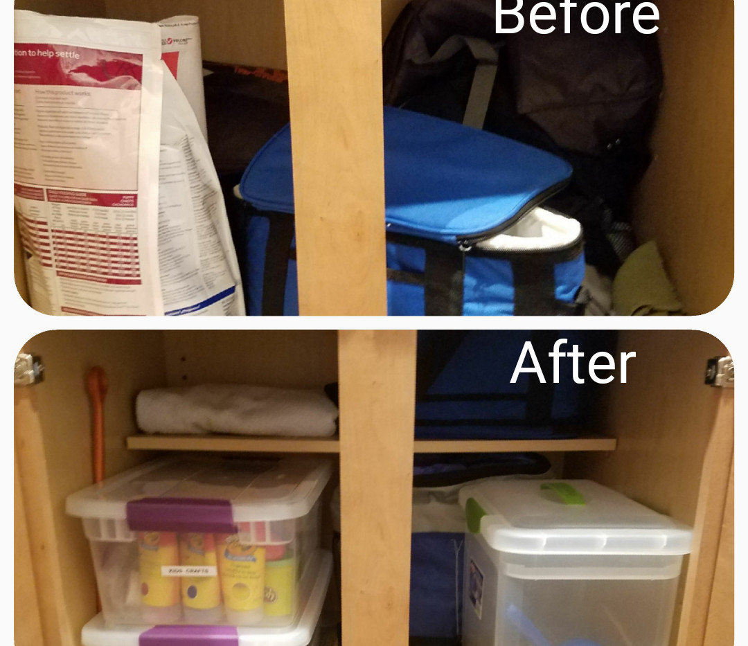 Organized Cabinets