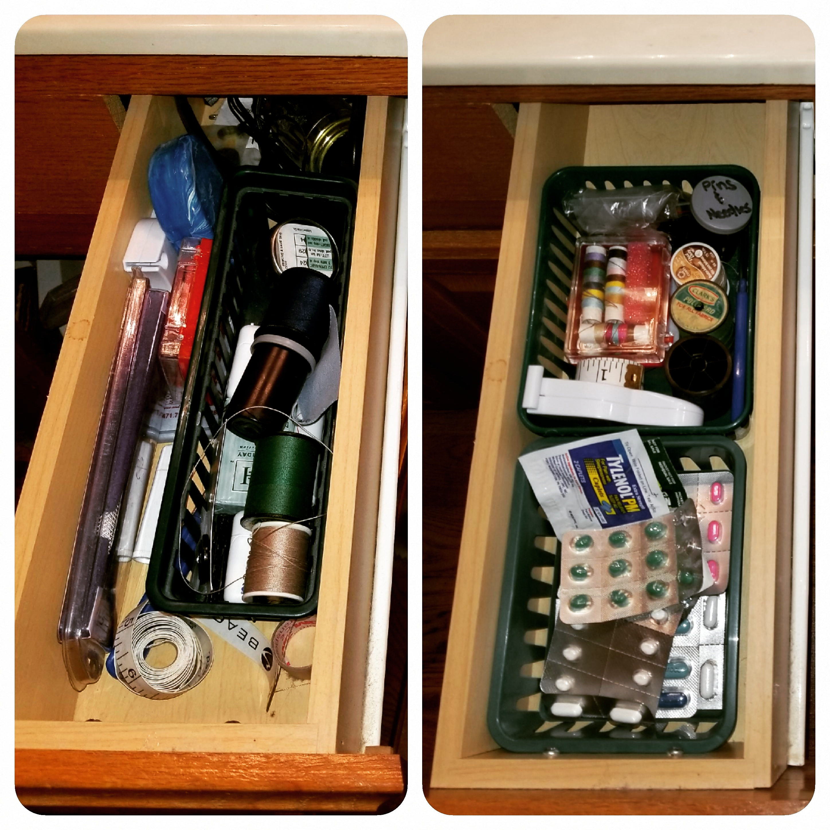 Before and After Drawer