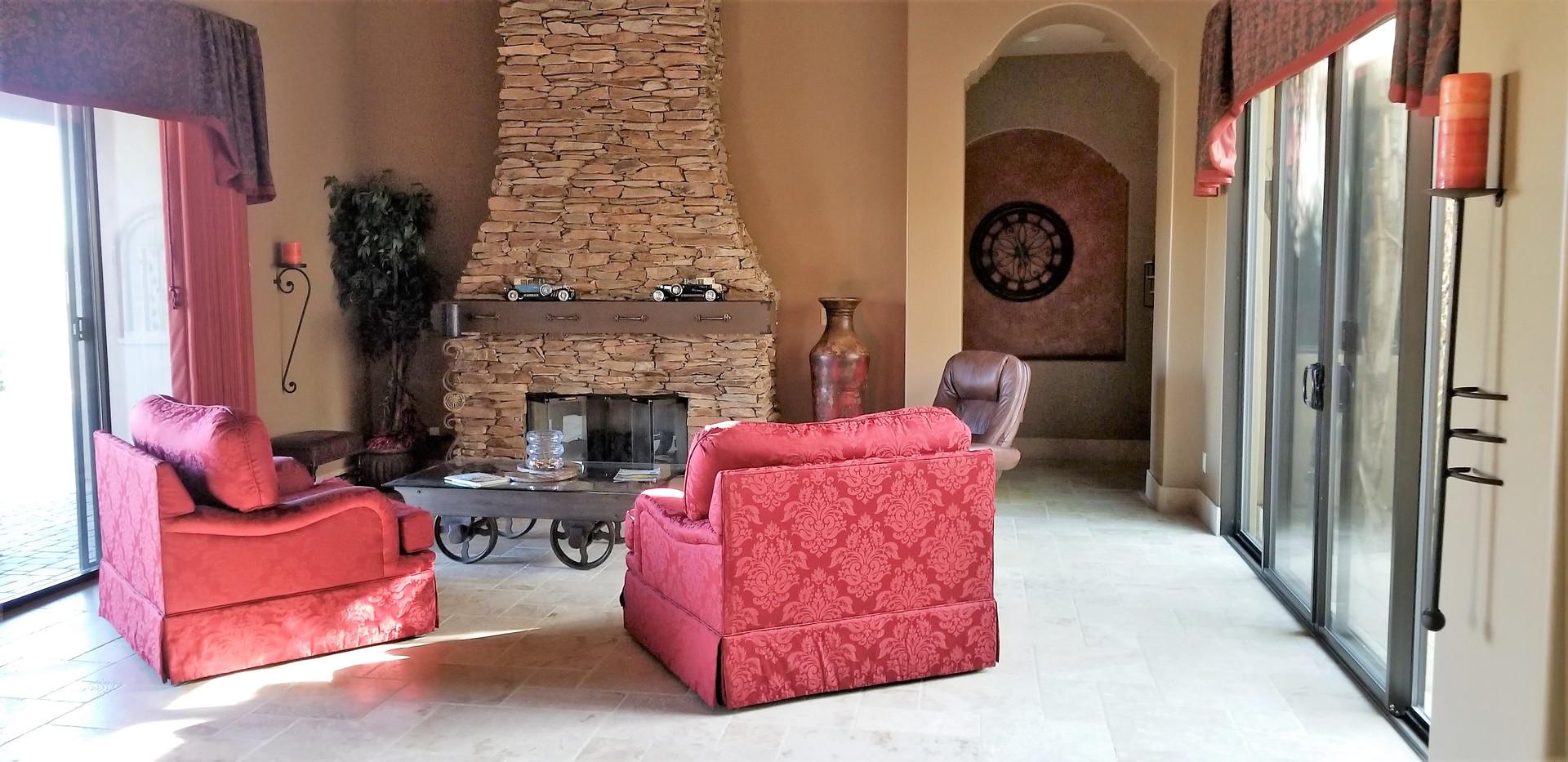 Spanish Inspired Living Room