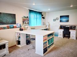 Beautiful Craft Room
