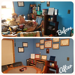 Before and After Organizing