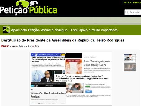 Destituição do Presidente da Assembleia da República, Ferro Rodrigues