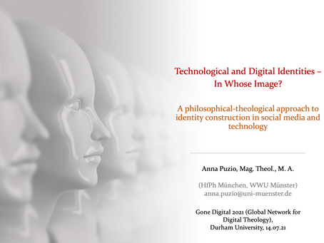 Technological and Digital Identities – In Whose Image?