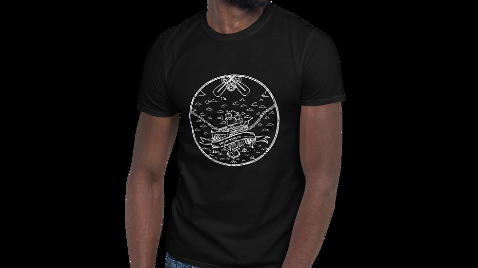 B-Fish Solid Kurzärmeliges Unisex-T-Shirt