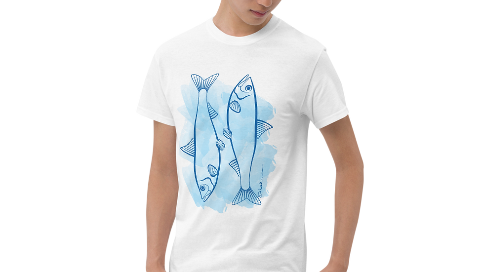 B-Double Fish Kurzärmeliges T-Shirt