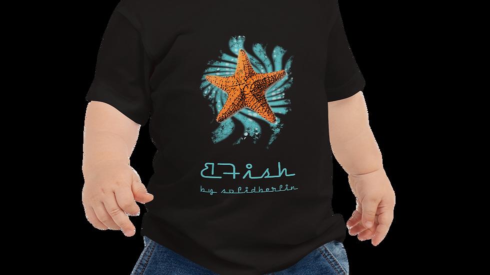 B-Fish Baby Star Jersey Kurzarm-T-Shirt