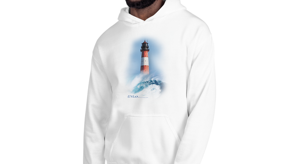 B-Fish Leuchtturm Kapuzenpullover