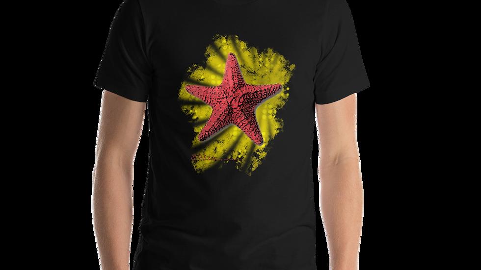 B-Fish Starfish Kurzärmeliges Unisex-T-Shirt