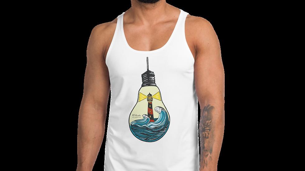 B-Fish Double Lighthouse Unisex-Tanktop
