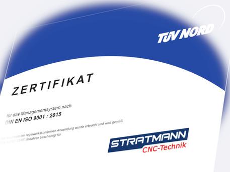 Erfolgreiches Re-Zertifizierungs-Audit nach DIN EN ISO 9001:2015