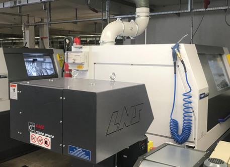 Zwei CNC-Drehmaschinen in Betrieb genommen