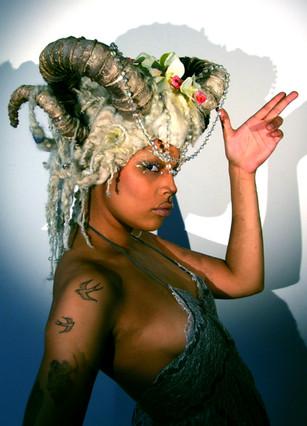 Goat Headdress