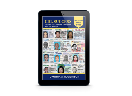 CDL SUCCESS: HOW TO GET LICENSED & PROSPER AS A CDL DRIVER eBOOK EXCLUSIVE IN AMAZON