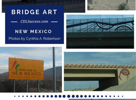 New Mexico Bridge Art