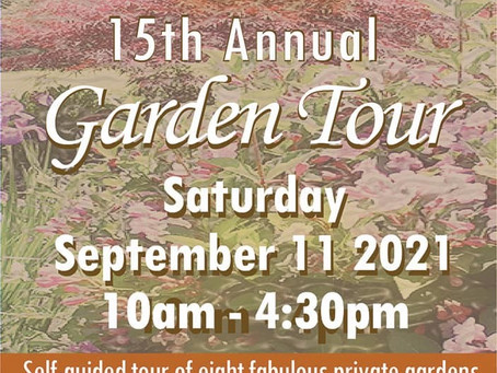 ShawGuild Garden Tour