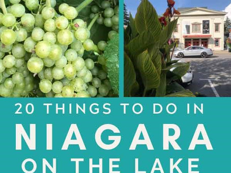 What to do when your Visit Niagara-on-the-Lake!