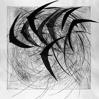 Swirling swifts I