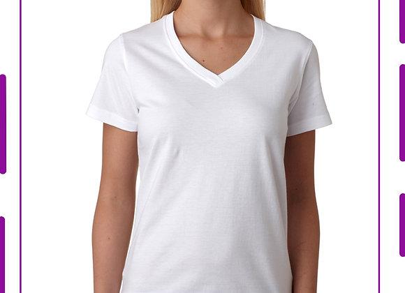 Camisetas Cuello en V