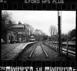Hadlow Railway Station