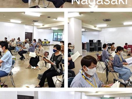 8月7日 長崎練習内容