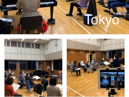 11月20日 東京練習内容