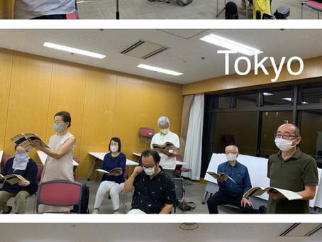 8月27日 東京練習内容