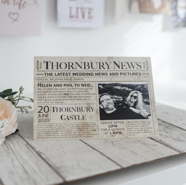 Start Spreading the News