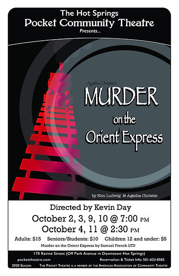 Murder on the Orient Express_11x17 Kiosk