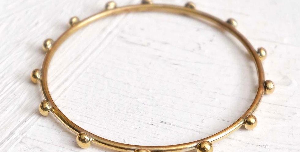Handmade Hebba Thin Bangle Bracelet