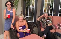 Linda Nelson, Ann & David Salem