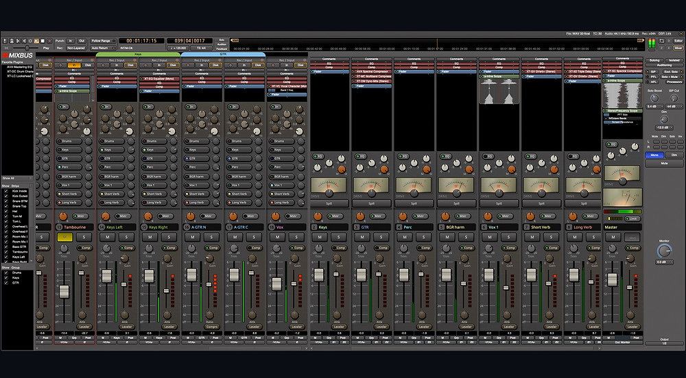 Harrisson MixBus, Excellente STAN orientée mixage.