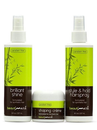 BeautiMark Styling Trio for Synthetic Hair