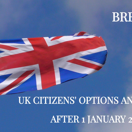 SITUATION OF BRITISH CITIZENS IN SPAIN AS OF 1 JANUARY 2021