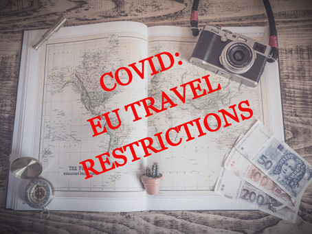 UPDATE: EU Travel restrictions during MAY2021
