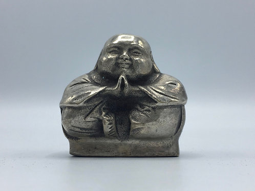 Silver Plated Monk