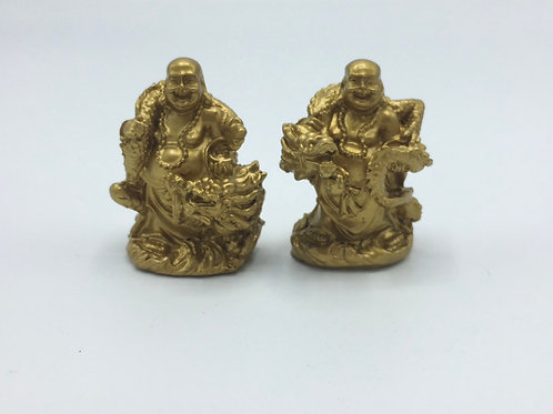 Dragon Happy Buddhas