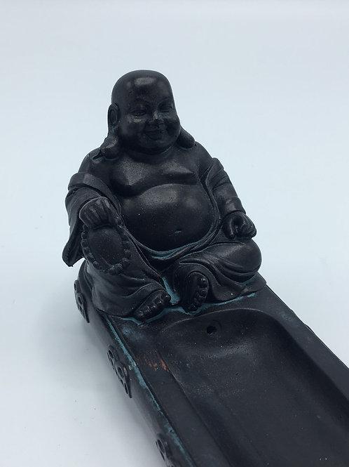 Happy Buddha Incense Burner