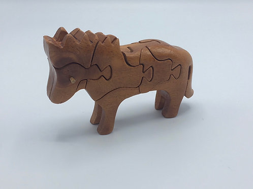 3 Dimensional Horse Puzzel