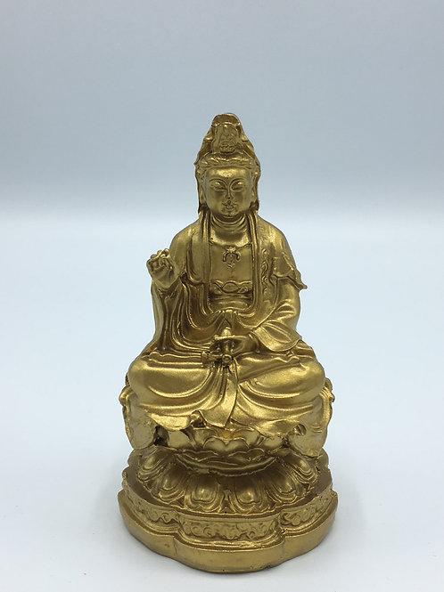 Sitting Guan Yin Statue