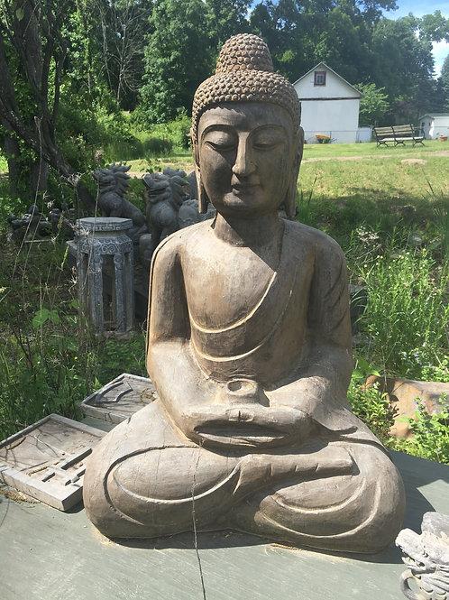 Blue Stone Buddha