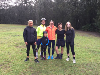 Training despite the threat of rain