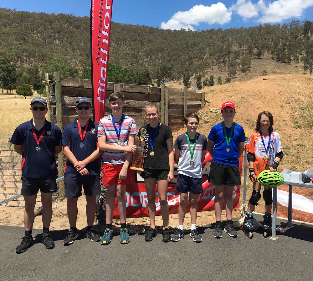 biathlon, laser biathlon, interschools, summer competition