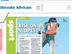 Hornsby Advocate Article